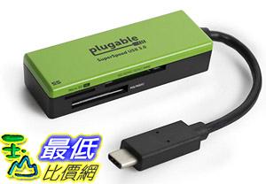 [8美國直購] 讀卡器 Plugable USB C SD Card Reader - Enable Your USB-C or Thunderbolt Enabled Laptop to Read SD