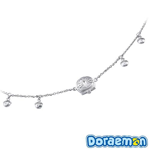 哆啦a夢Doraemon ♥鈴鐺哆啦♥ 銀飾手鍊