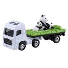 TOMICA 多美小汽車 3 熊貓運輸車 【鯊玩具Toy Shark】