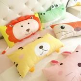 森林動物柔軟羽絨棉可拆洗臥室兒童床枕頭午休枕抱枕沙發抱枕WY【滿999限時八五折】