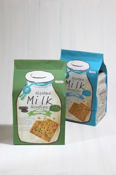 【飛牛牧場.牛奶生活館】好牛奶餅乾(鮮奶蘇打/起司蘇打)優惠組