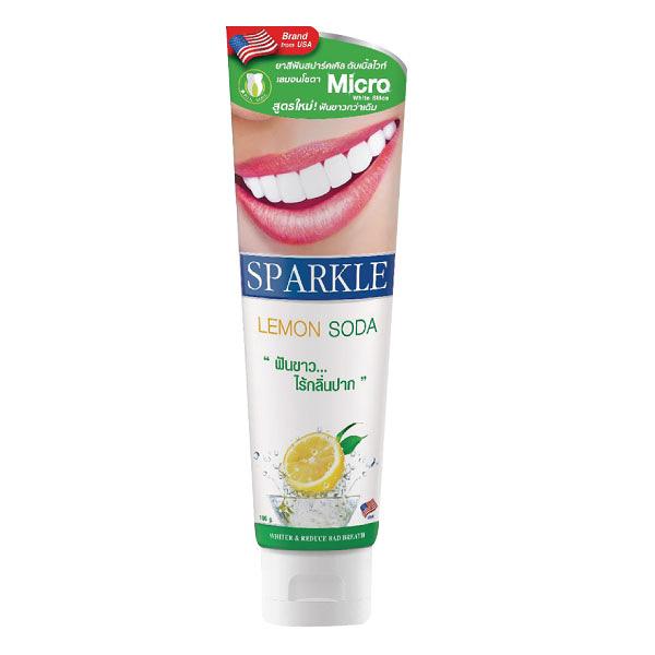 SPARKLE專業亮白牙膏-檸檬蘇打100g【杏一】