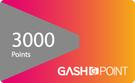 遊戲橘子 GASH 3000點 點數卡 ...
