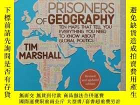 二手書博民逛書店Prisoners罕見of Geography: Ten Maps That Tell You Everythin