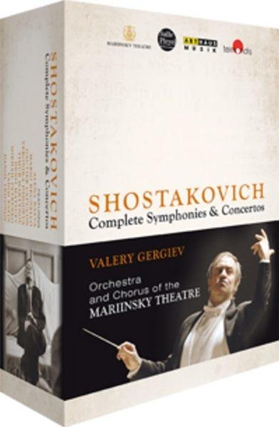 【停看聽音響唱片】【BD】SHOSTAKOVICH - COMPLETE SYMPHONIES & CONCERTOS (4 BLU-RAY)