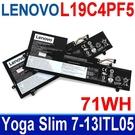 LENOVO L19C4PF5 . 電池 L19M4PF5 SB10W6527 SB10W65293 Yoga Slim 7 Carbon 13ITL5 Yoga Slim 7-13ITL05