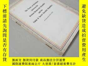 二手書博民逛書店The罕見Treaty on Relations between