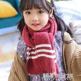 兒童圍巾男寶寶圍脖冬女童圍巾秋冬季毛線保暖小孩圍巾韓版潮解憂雜貨鋪