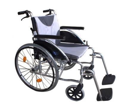 康復 輪椅 (未滅菌)   (FZK-F19鋁製輪椅)
