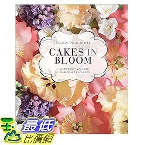 2018 amazon 亞馬遜暢銷書 Cakes in Bloom: The art of exquisite sugarcraft flowers