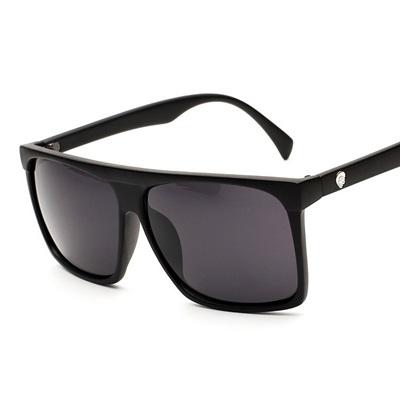 太陽眼鏡-偏光方形大框流行抗UV女墨鏡4色71g55【巴黎精品】