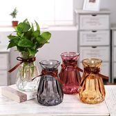 1212年終盛典 花瓶簡約創意玻璃透明風信子水培植物花盆~詩篇官方旗艦店