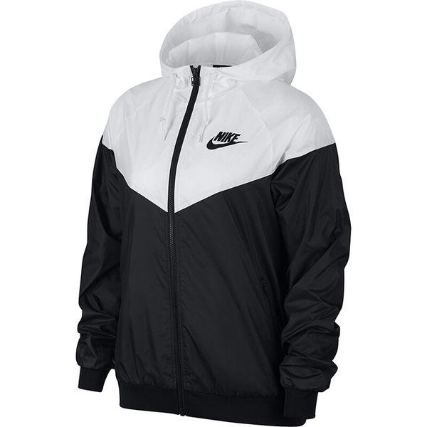 Nike NSW Windrunner 女款黑白拼接防風外套-NO.AR3093010