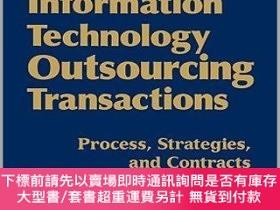 二手書博民逛書店預訂Information罕見Technology Outsourcing Transactions: Proce