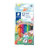 施德樓 MS144 NC12 快樂學園 油性色鉛筆12色組