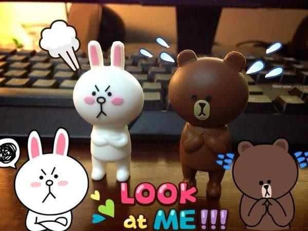 LINE APP 饅頭人 公仔 娃娃 熊大兔兔 32G (不發光) 立體隨身輕巧隨身碟USB 獨家發售
