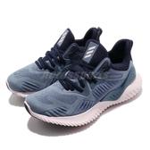 【六折特賣】adidas 慢跑鞋 AlphaBounce Beyond W 藍 灰 舒適緩震 女鞋 運動鞋【PUMP306】 CG5580
