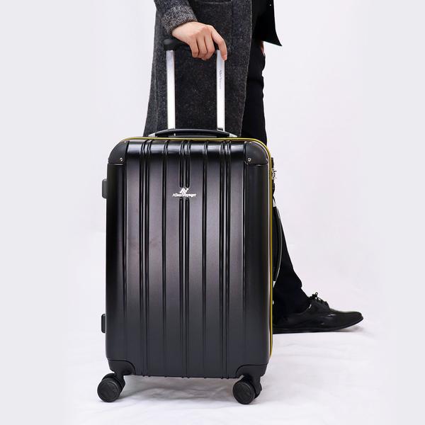 行李箱 拉桿箱 奧莉薇閣 28吋PC硬殼 尊藏典爵系列 雅痞黑(贈送防塵套*1)
