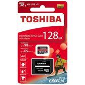 TOSHIBA 東芝 EXCERIA M303 128GB micro SDXC UHS-I 記憶卡