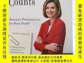 二手書博民逛書店Communication罕見Counts: Business