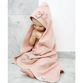 【瑞典ELODIE DETAILS】北歐精品連帽浴巾 小公主