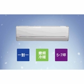 【HITACHI日立】5-7坪變頻《冷暖標準型》一對一冷氣 RAS-36YK1/RAC-36YK1