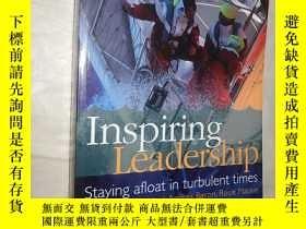 二手書博民逛書店Inspiring罕見Leadership: Staying A