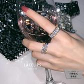 簡約高級感戒指風開口食指指環女戒指【小檸檬3C】