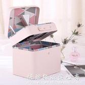 少女心化妝包大容量簡約可愛小號便攜化妝品收納包韓國化妝箱手提 科炫數位