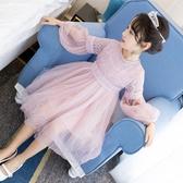兒童連衣裙 樂兔女童連衣裙2020春裝正韓超洋氣新款兒童裙子公主裙小女孩【快速出貨】