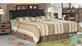【新北大】✪ B013-1 哈珀6尺被櫥式雙人床(含床底)-18購