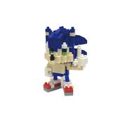 《 Nano Block 迷你積木 》NBCC_081音速小子 索尼克 / JOYBUS玩具百貨