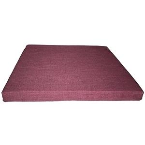 【宜欣居傢飾】亞麻紫-仿麻精緻坐墊*6入紫55*55*5cm