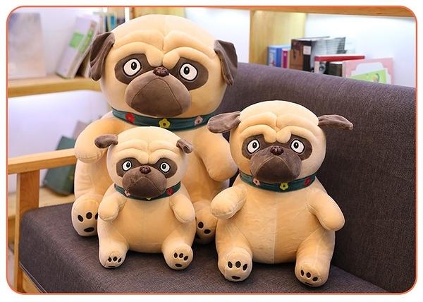 【50公分】沙皮狗娃娃 小狗玩偶 網紅公仔 聖誕節交換禮物 生日禮物 兒童節禮物 餐廳布置設計