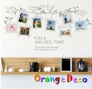 壁貼【橘果設計】相框 DIY組合壁貼/牆...