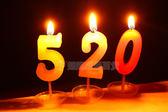 錶白蠟燭 蛋糕數字蠟燭浪漫求婚錶白小蠟燭DIY創意兒童生日蠟燭【全館直降限時搶】