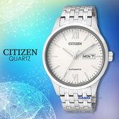 CITIZEN 星辰 手錶專賣店 NP4070-53A 機械錶 男錶 日期 不銹鋼錶殼強化玻璃鏡面 防水