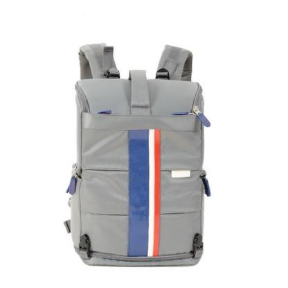 相機後背包(大款)-時尚拼色戶外休閒雙肩攝影包2色71a44[時尚巴黎]