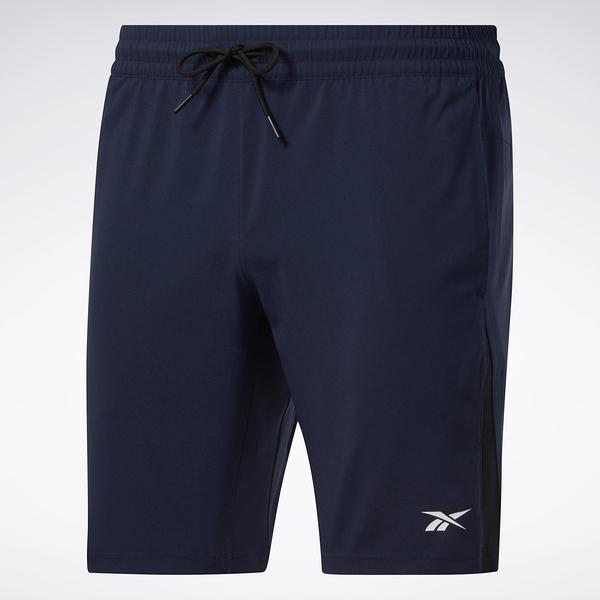 REEBOK WORKOUT READY 男裝 短褲 慢跑 休閒 速乾 舒適 透氣 藍【運動世界】FU3257