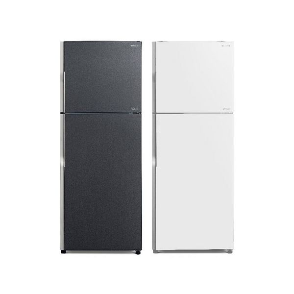 日立 HITACHI 381公升琉璃面板雙門變頻冰箱 RG399