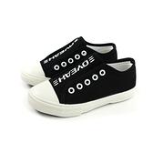 休閒布鞋 懶人鞋 黑色 童鞋 MT-800B-01 no062