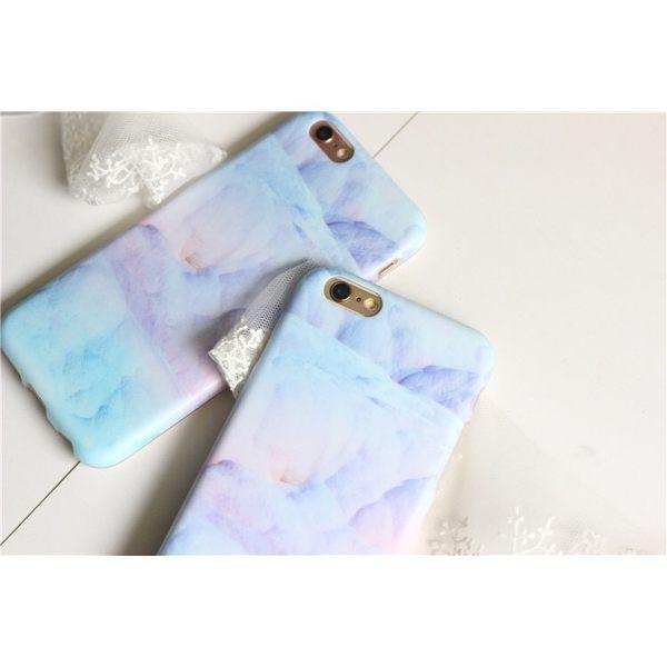 iPhone手機殼 土耳其古堡的棉花糖 磨砂矽膠軟殼 蘋果iPhone7/iPhone6手機殼