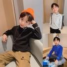 小貝潮品男童長袖T恤冬裝2020新款兒童中大童高領純棉打底衫秋冬 韓語空間