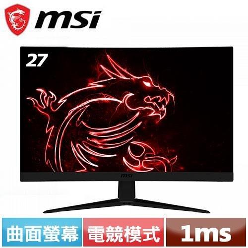 MSI微星 Optix 27型 G27C5 曲面電競螢幕