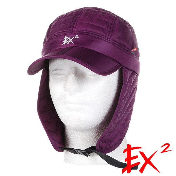EX2 超輕保暖覆耳帽『紫』352311 露營│旅遊│戶外│保暖帽│遮耳帽