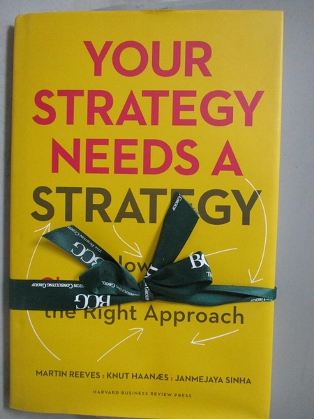 【書寶二手書T8/大學商學_ZDR】Your Strategy Needs a Strategy-How to Choo