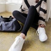 衛生褲 春秋款螺紋灰色純棉打底褲女外穿薄款秋冬季九分長褲內穿衛生褲 小天後