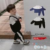 童裝男童春秋套裝寶寶運動兩件套兒童休閒秋裝衣服潮【奇趣小屋】