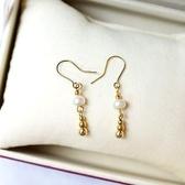 【喨喨飾品】珍珠耳環 高雅大方 S14