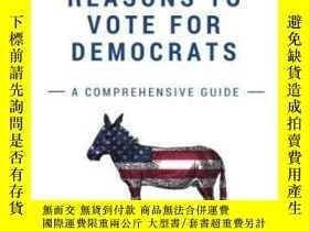 二手書博民逛書店Reasons罕見To Vote For Democrats-投票給民主黨的理由Y436638 Michael